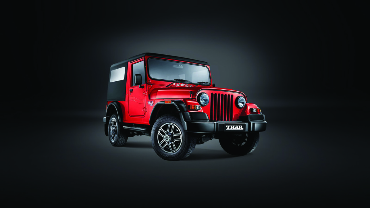 mahindra thar 360 video 1