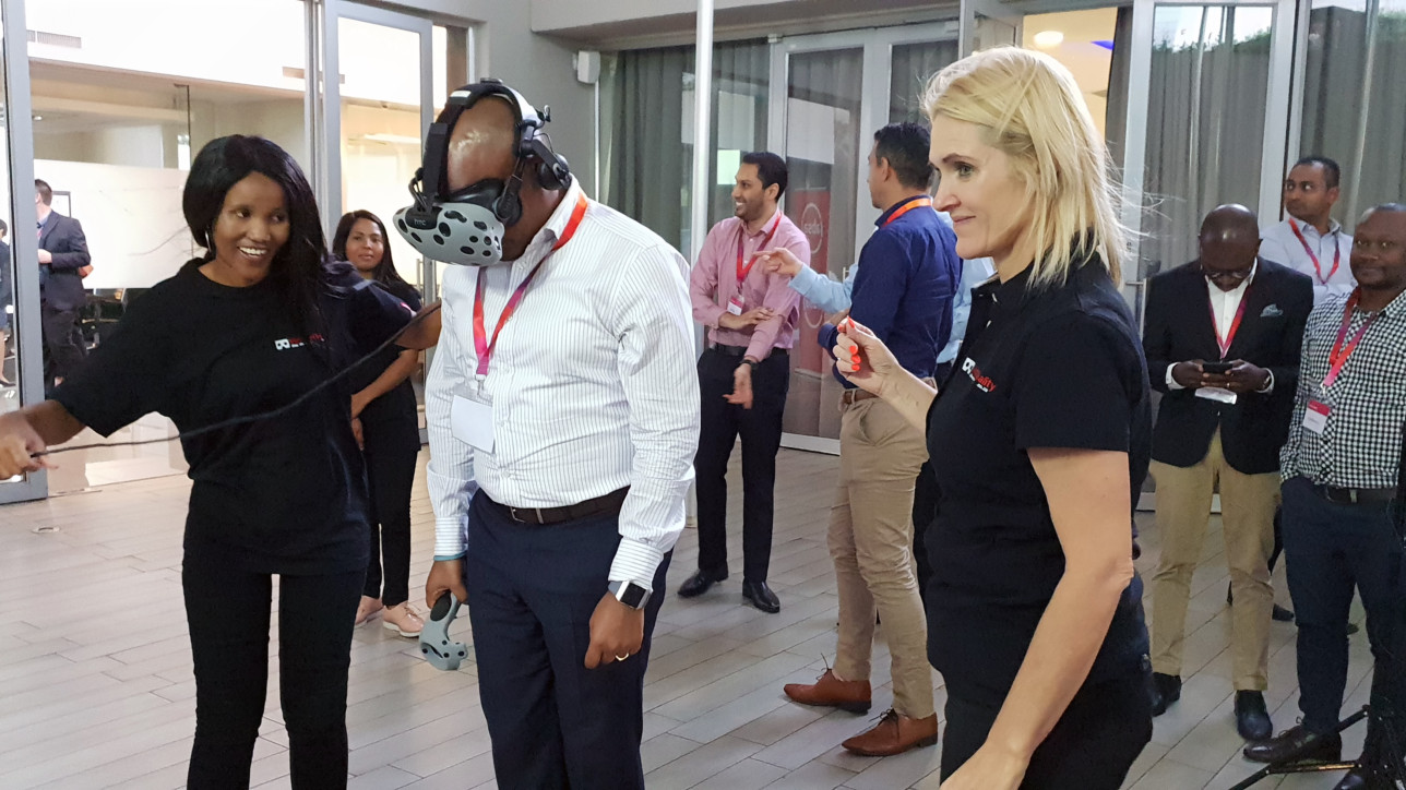 corporate virtual reality events