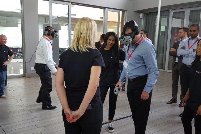 virtual reality events