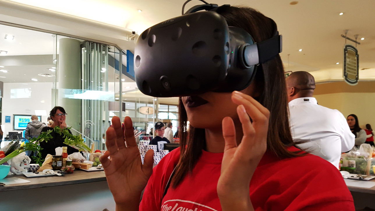 laughing cow vr experience