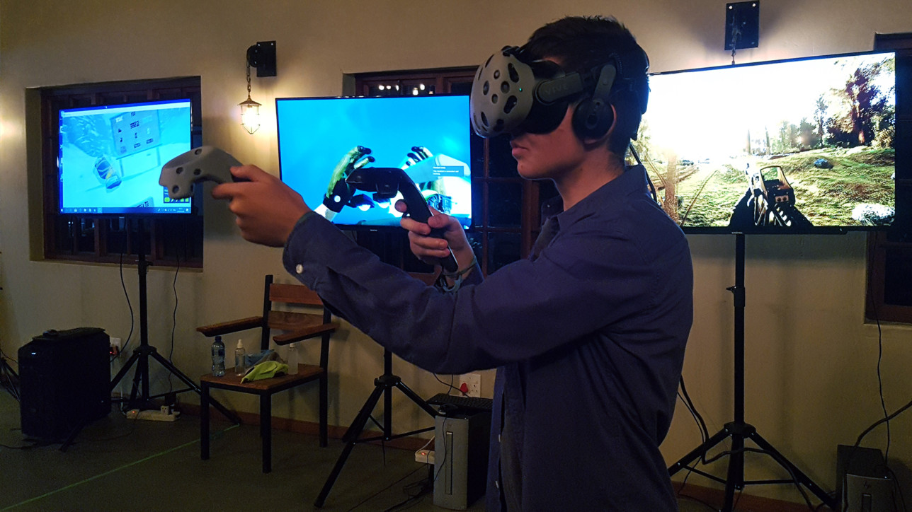virtual reality birthday parties