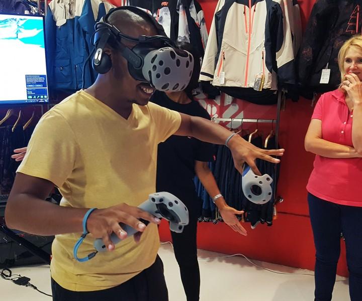 virtual reality extreme sports